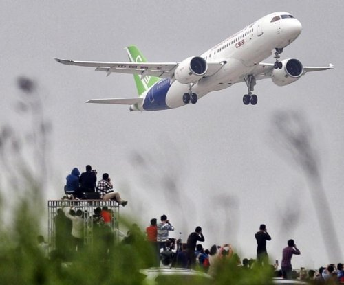 China's Comac C919 airplane makes its first flight