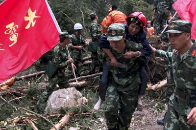 Powerful earthquake rocks central China, kills at least 19