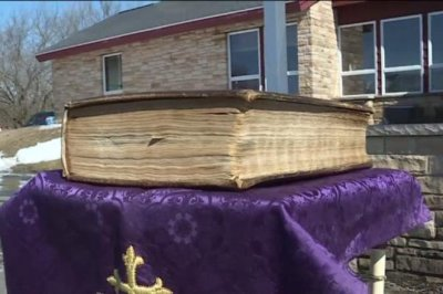 Bible survives a second fire at Wisconsin church