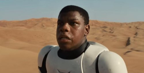 'Star Wars' John Boyega to 'black stormtrooper' critics: 'Get used to it'