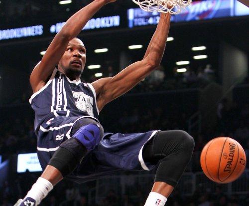 Kevin Durant, Oklahoma City Thunder edge Phoenix Suns