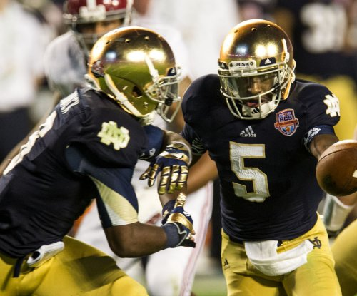 Coach denies report of Golson transfer from Notre Dame