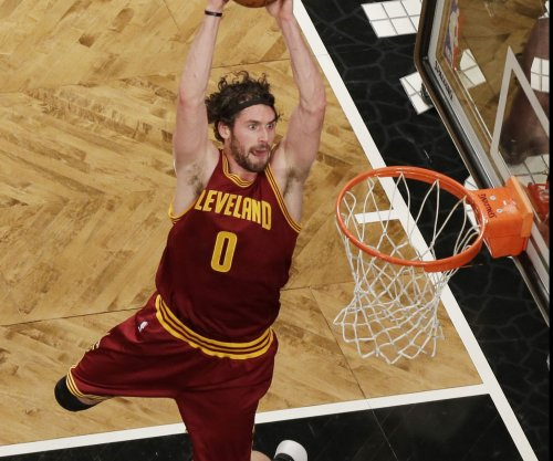 Cleveland Cavaliers' Kevin Love is questionable for Game 3