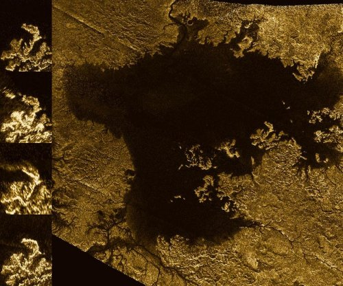 Titan's methane lakes may fizz with nitrogen bubbles