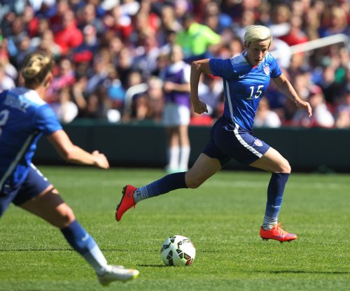 USWNT member Megan Rapinoe will stand during national anthem
