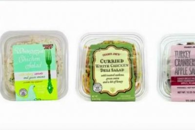 Trader Joe's salads recalled over possible glass fragments