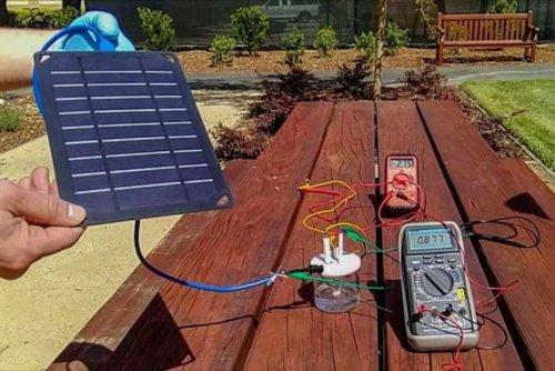Stanford scientists turn seawater into hydrogen fuel