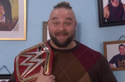 'WWE Backstage': Bray Wyatt celebrates becoming Universal Champion