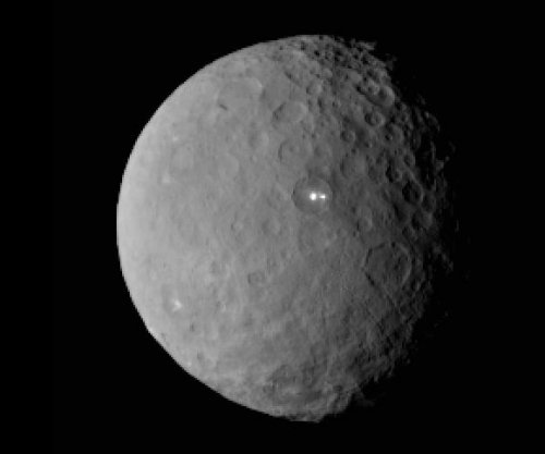 Strange bright spot on Ceres has a companion