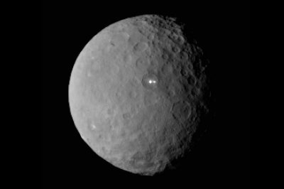 Strange bright spot on Ceres has a companion