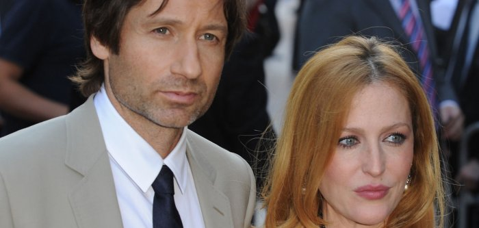 X files actors dating
