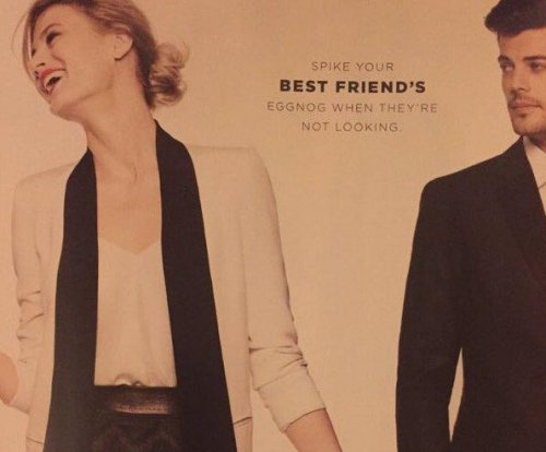 Bloomingdale's apologizes after uproar over 'date rape' ad