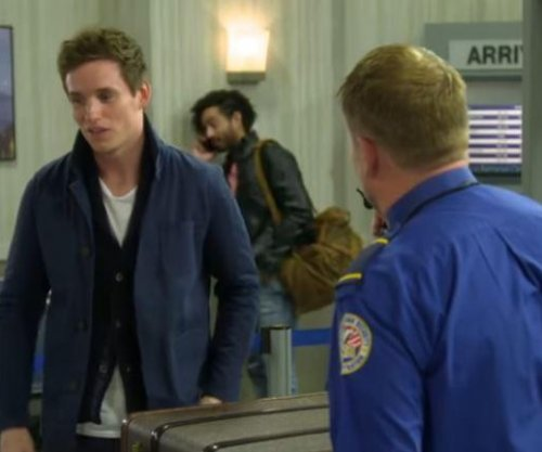 Eddie Redmayne and James Corden star in 'Fantastic Beasts of the TSA' sketch