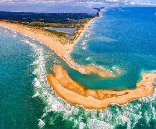 As ocean tides shift, North Carolina gets a new island