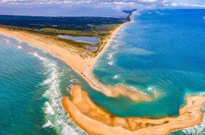 As ocean tides shift, North Carolina gets a new island