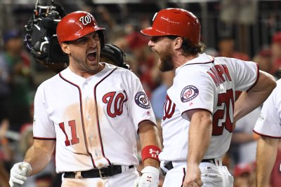 NLDSL Ryan Zimmerman, Bryce Harper help Washington Nationals even series vs. Chicago Cubs