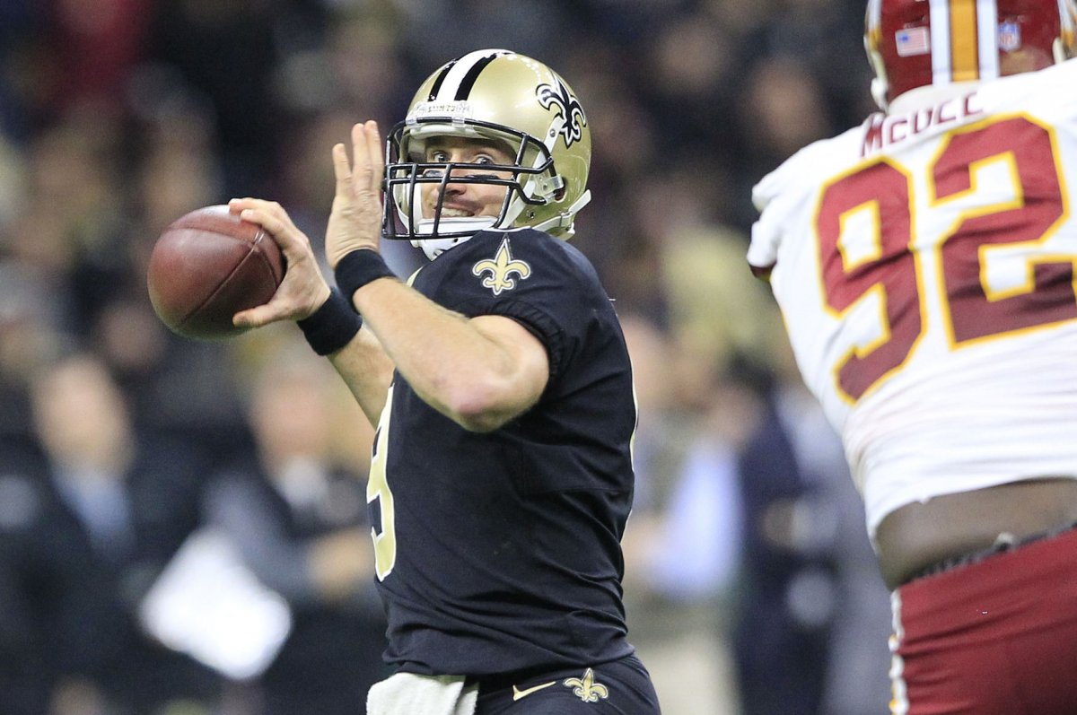 Drew Brees perfect in New Orleans Saints epic eback win over