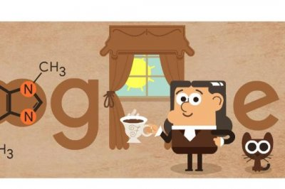 Google honors chemist Friedlieb Ferdinand Runge with new Doodle