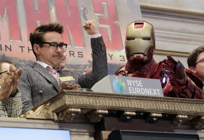 Downey Jr. signs up for two more 'Avengers' movies