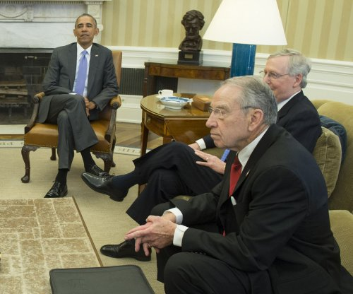 Obama, Republicans talk Supreme Court fight at White House; Reid says GOP waiting for 'President Trump'