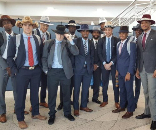 Why are North Carolina players all wearing cowboy hats?