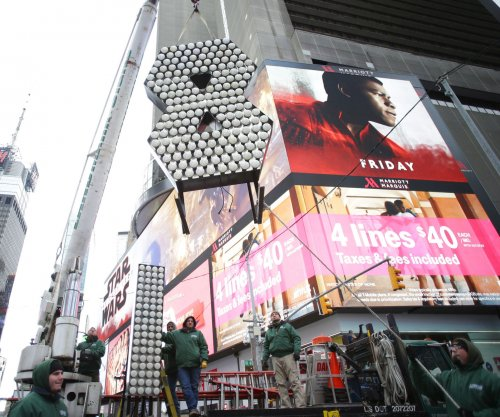 Watch live: Ball drops in Times Square New Year's Eve