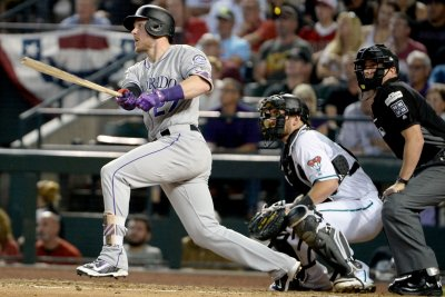 Rockies' Trevor Story right at home playing Rangers in Texas