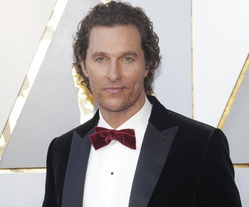 Matthew McConaughey promotes 'Time to Kill' sequel