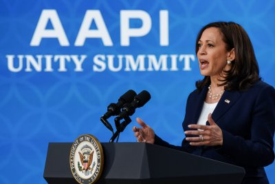 Harris expresses 'outrage and grief' at anti-AAPI hate crimes