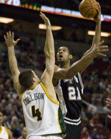 NBA: San Antonio 95, Charlotte 86