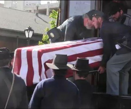 President Lincoln's Illinois funeral recreated on 150th anniversary