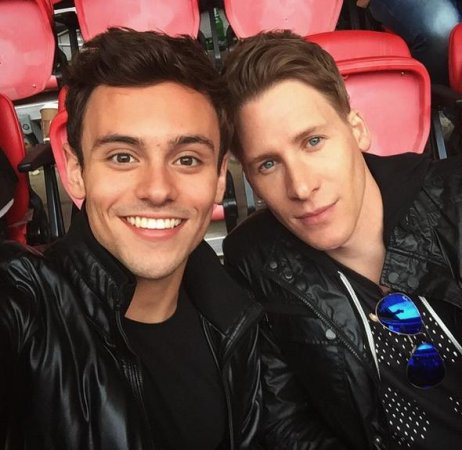 Olympian Tom Daley engaged to boyfriend Dustin Lance Black