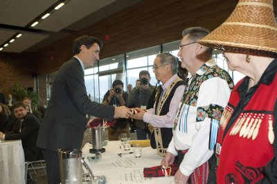 Canada locks step with First Nations on climate
