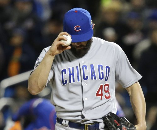 Los Angeles Dodgers one-hit Chicago Cubs, end Jake Arrieta's streak