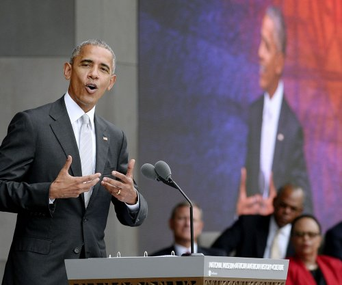 "Obama calls African American Museum ""the newest American icon; thousands gather for opening"