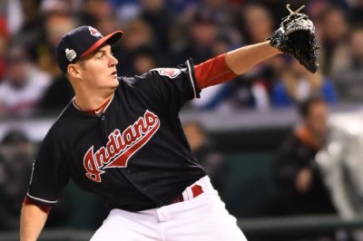 Cleveland Indians blank skidding Kansas City Royals