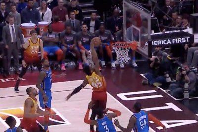 Donovan Mitchell breaks ankles, throws down on Nerlens Noel