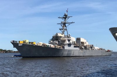 USS Fitzgerald leaves dry dock amid repairs