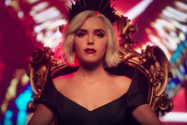 watch 39 chilling adventures of sabrina 39 stars tease part 3 in music video