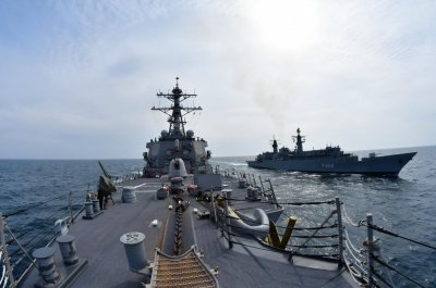 U.S. destroyers join NATO exercise in Baltic, Black seas