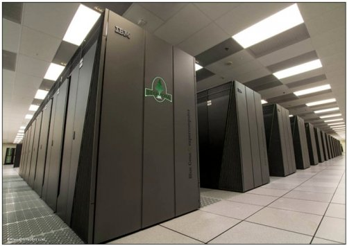 Supercomputer sets computing record