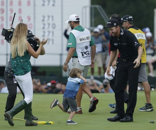 Jimmy Walker shares PGA glory with family, friends