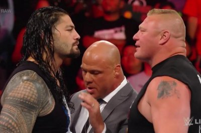 WWE Raw: Roman Reigns, Samoa Joe confront Brock Lesnar