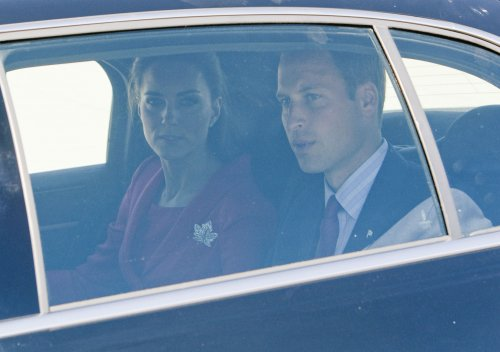 Prince William, wife arrive in Los Angeles
