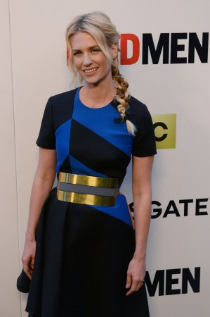 January Jones says she's in 'total denial' about 'Mad Men' coming to an end