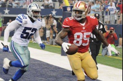 San Francisco 49ers hope Vernon Davis is healthy Thursday night