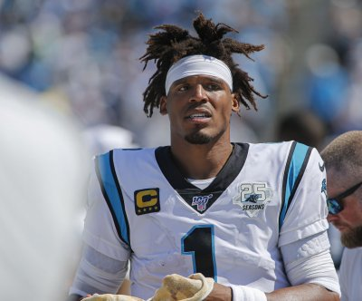 Carolina Panthers rule out QB Cam Newton against Arizona Cardinals