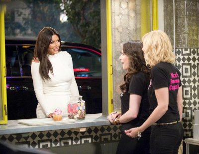 Preview Kim Kardashian on '2 Broke Girls'
