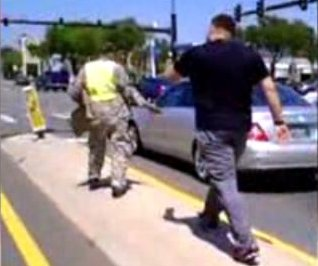 Stolen valor: Fla. vet tells panhandler, 'Take off my uniform'