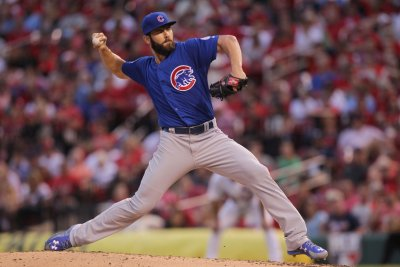 Arrieta strikes out 10 as Chicago Cubs defeat Atlanta Braves